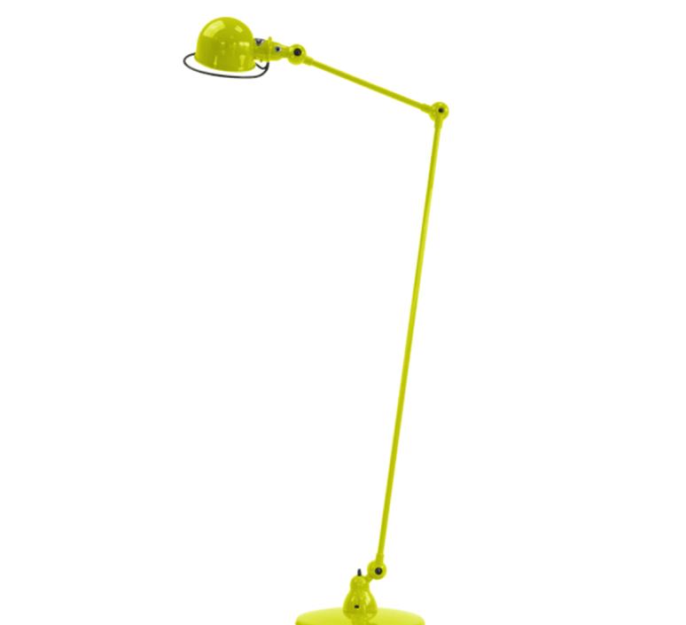 Loft 2 bras jean louis domecq lampadaire floor light  jielde d1240 ral1016  design signed 36019 product