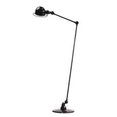 Loft 2 bras jean louis domecq lampadaire floor light  jielde d1240 ral9011  design signed 36015 thumb