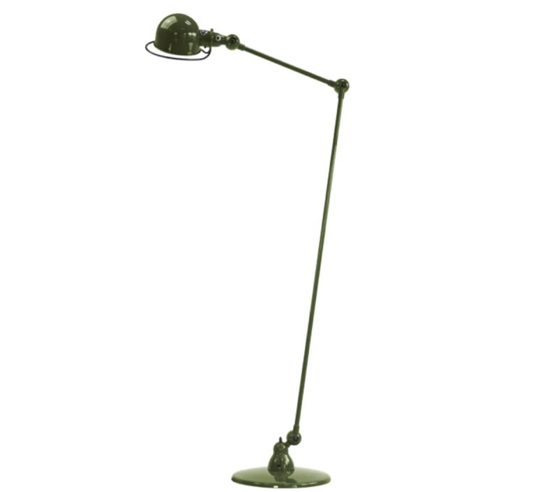 Loft 2 bras jean louis domecq lampadaire floor light  jielde d1240 ral6003  design signed 36023 product