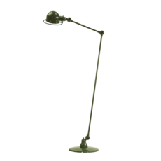 Loft 2 bras jean louis domecq lampadaire floor light  jielde d1240 ral6003  design signed 36023 thumb