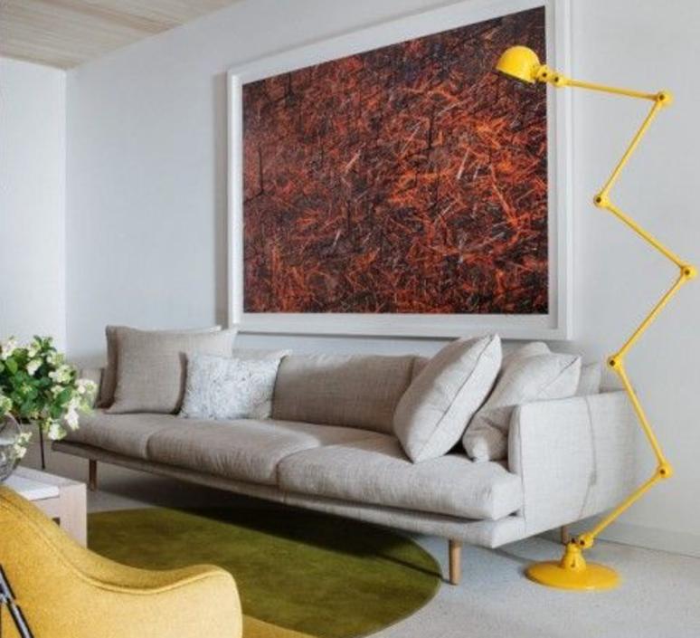 Loft 6 bras jean louis domecq lampadaire floor light  jielde d9406 ral1003  design signed 35935 product