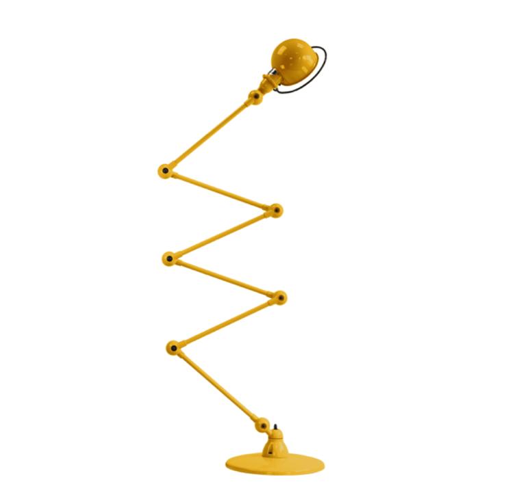 Loft 6 bras jean louis domecq lampadaire floor light  jielde d9406 ral1003  design signed 35937 product