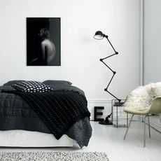 Loft 6 bras jean louis domecq lampadaire floor light  jielde d9406 ral9011  design signed 35815 thumb