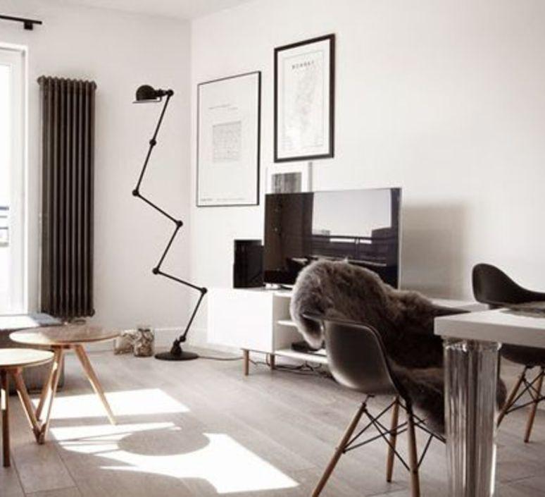 Loft 6 bras jean louis domecq lampadaire floor light  jielde d9406 ral9011  design signed 35816 product