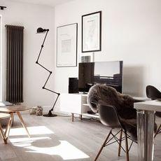 Loft 6 bras jean louis domecq lampadaire floor light  jielde d9406 ral9011  design signed 35816 thumb