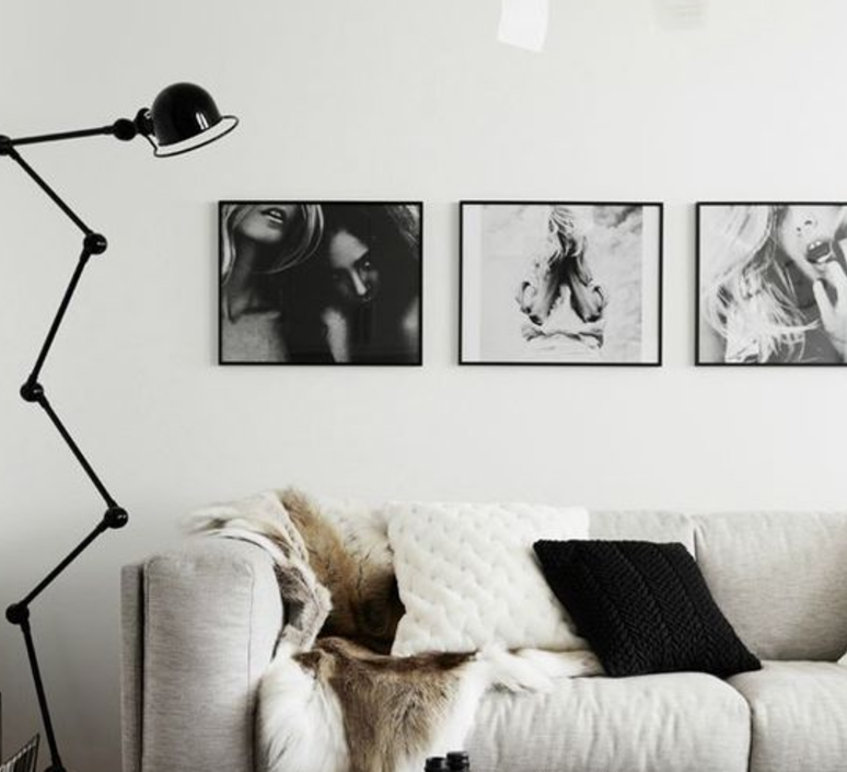 Loft 6 bras jean louis domecq lampadaire floor light  jielde d9406 ral9011  design signed 35818 product