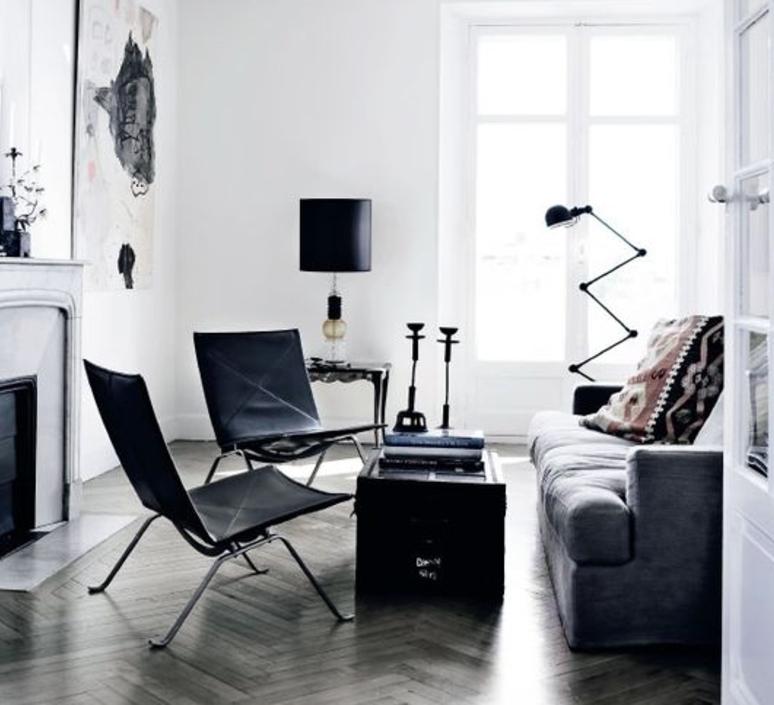 Loft 6 bras jean louis domecq lampadaire floor light  jielde d9406 ral9011  design signed 35820 product