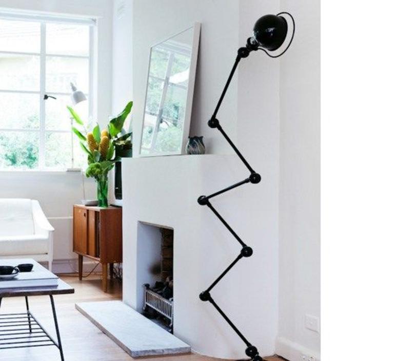 Loft 6 bras jean louis domecq lampadaire floor light  jielde d9406 ral9011  design signed 35821 product