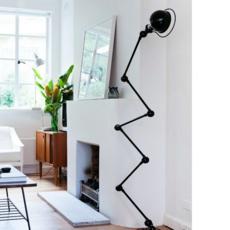 Loft 6 bras jean louis domecq lampadaire floor light  jielde d9406 ral9011  design signed 35821 thumb