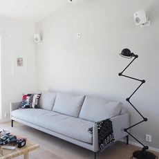 Loft 6 bras jean louis domecq lampadaire floor light  jielde d9406 ral9011  design signed 54177 thumb