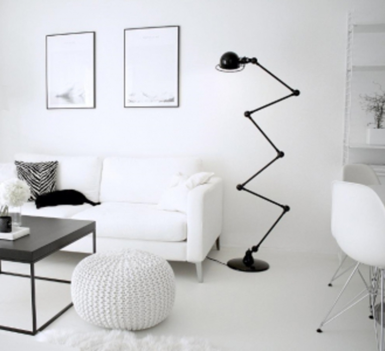 Loft 6 bras jean louis domecq lampadaire floor light  jielde d9406 ral9011  design signed 54184 product