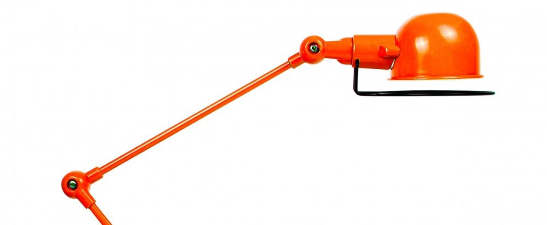 Lampadaire loft 6 bras orange o33cm h240cm jielde normal