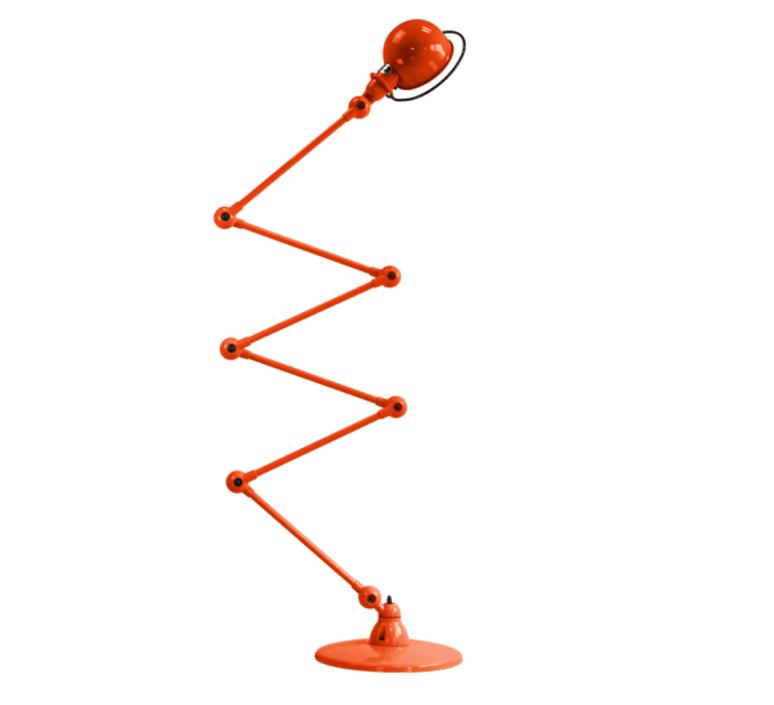 Loft 6 bras jean louis domecq lampadaire floor light  jielde d9406 ral2004  design signed 36004 product