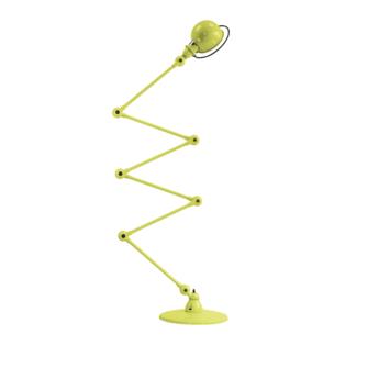 Lampadaire loft d9406 6 bras jaune souffre l240cm h150cm jielde normal