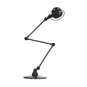 Lampadaire loft noir l240cm h150cm jielde normal