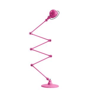 Lampadaire loft rose l240cm h150cm jielde normal