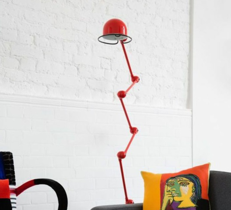 Loft  lampadaire floor light  jielde loft d9406 ral 3020  design signed 54467 product