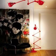 Loft  lampadaire floor light  jielde loft d9406 ral 3020  design signed 54469 thumb