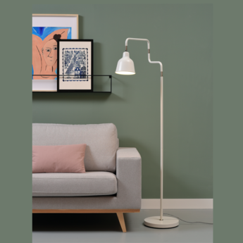 Lampadaire london blanc o16cm h150cm it s about romi normal