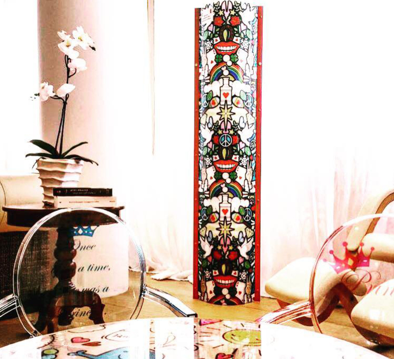 Love peace joy  lampadaire floor light  slamp tub93ptu0004 lov  design signed 52004 product
