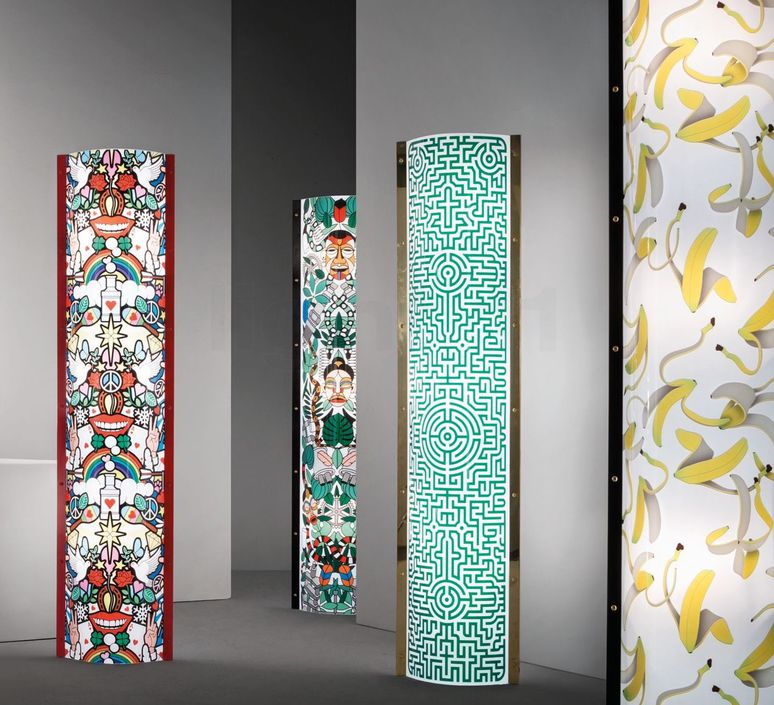 Love peace joy  lampadaire floor light  slamp tub93ptu0004 lov  design signed 52005 product