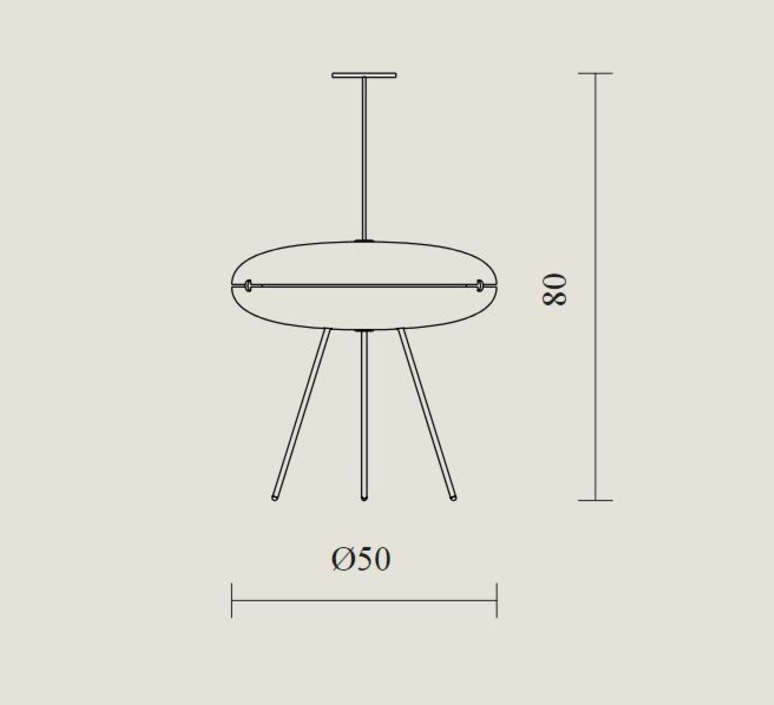 Luna gio ponti lampadaire floor light  tato italia tlu400 1365  design signed nedgis 62988 product
