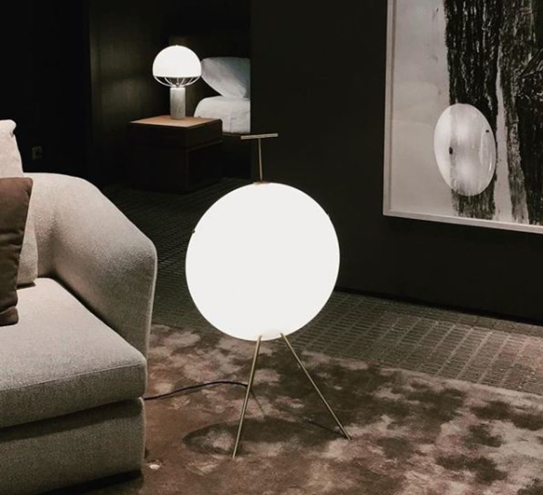 Luna gio ponti lampadaire floor light  tato italia tlu410 0565  design signed nedgis 63002 product