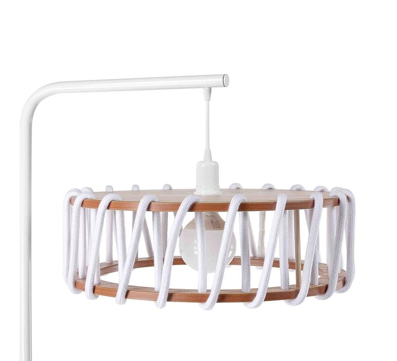 Macaron l blanc et blanc silvia cenal lampadaire floor light  emko wmcf45white  design signed nedgis 72293 product