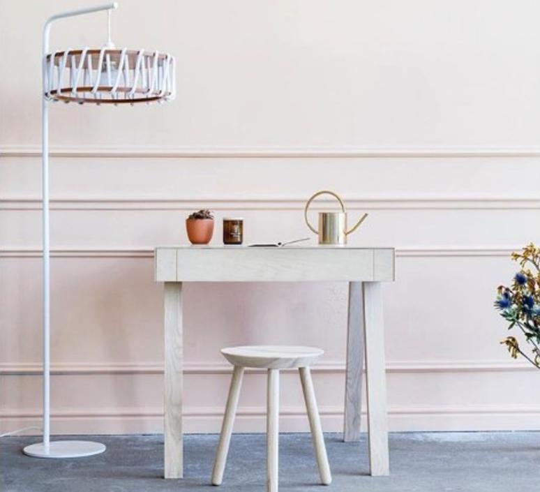 Macaron l blanc et blanc silvia cenal lampadaire floor light  emko wmcf45white  design signed nedgis 72296 product