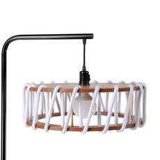 Macaron l blanc et noir silvia cenal lampadaire floor light  emko bmcf45white  design signed nedgis 71961 thumb