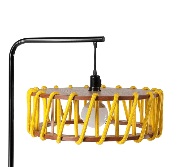 Macaron l jaune et noir silvia cenal lampadaire floor light  emko bmcf45yellow  design signed nedgis 71958 product