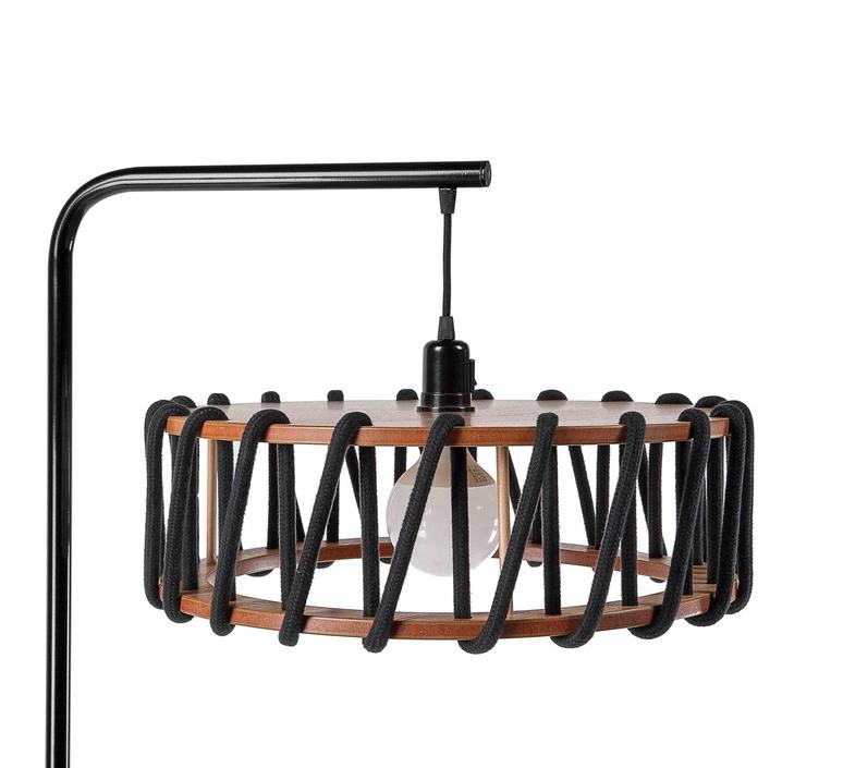 Macaron l noir et noir silvia cenal lampadaire floor light  emko bmcf45black  design signed nedgis 72154 product