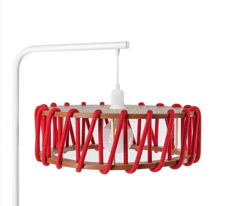 Macaron l rouge et blanc silvia cenal lampadaire floor light  emko wmcf45red  design signed nedgis 72299 product