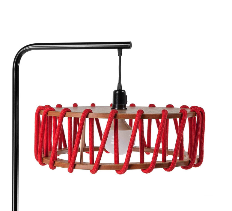 Macaron l rouge et noir silvia cenal lampadaire floor light  emko bmcf45red  design signed nedgis 72156 product