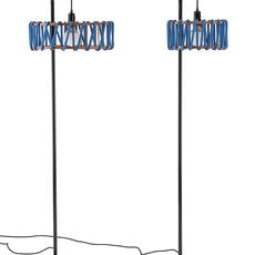 Macaron s bleu et blanc silvia cenal lampadaire floor light  emko wmcf30blue  design signed nedgis 71941 thumb