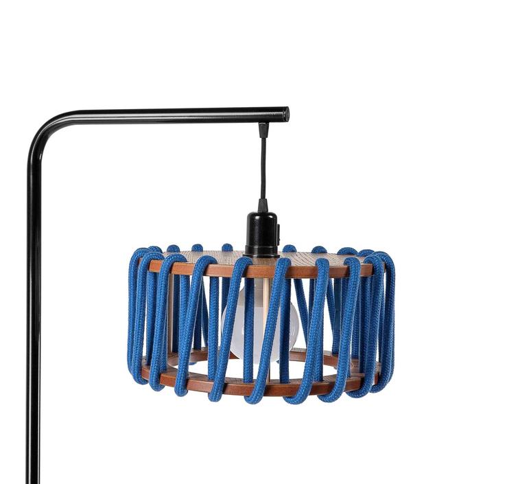 Macaron s bleu et noir silvia cenal lampadaire floor light  emko bmcf30blue  design signed nedgis 72302 product