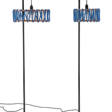 Macaron s bleu et noir silvia cenal lampadaire floor light  emko bmcf30blue  design signed nedgis 72303 thumb