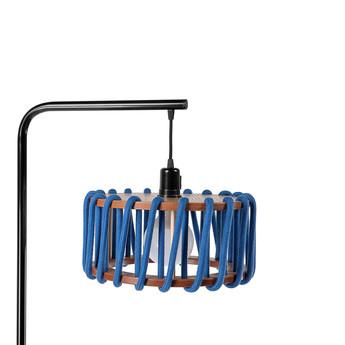 Lampadaire macaron s bleu et noir bleu l30cm h163cm emko normal