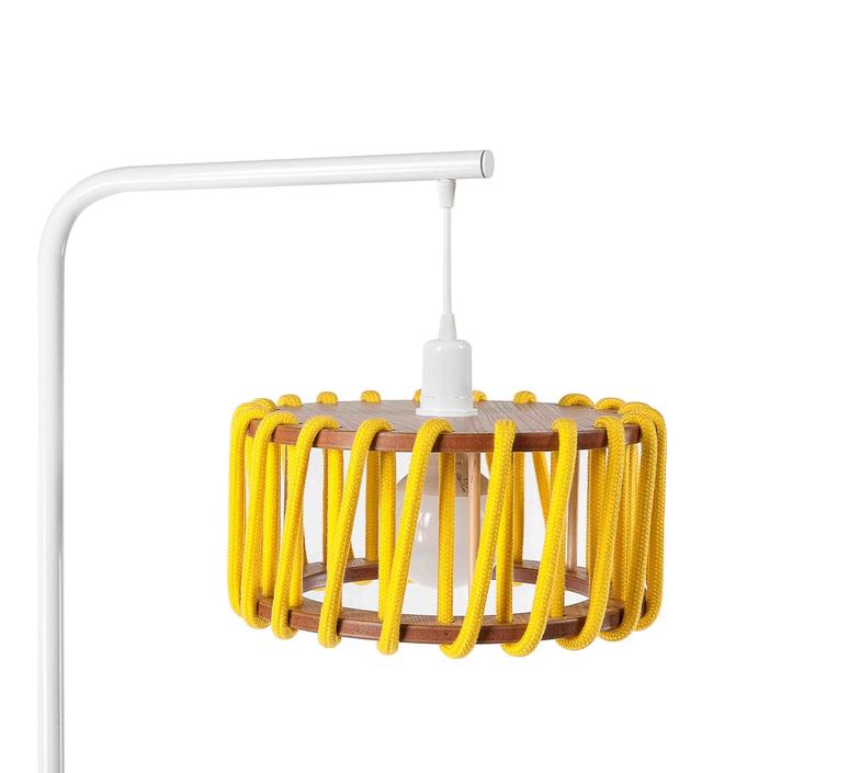 Macaron s jaune et blanc silvia cenal lampadaire floor light  emko wmcf30yellow  design signed nedgis 72155 product