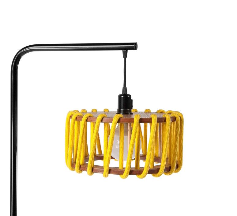 Macaron s jaune et noir silvia cenal lampadaire floor light  emko bmcf30yellow  design signed nedgis 72306 product