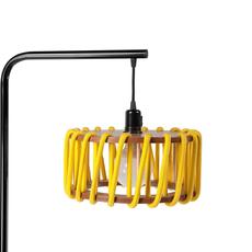 Macaron s jaune et noir silvia cenal lampadaire floor light  emko bmcf30yellow  design signed nedgis 72306 thumb