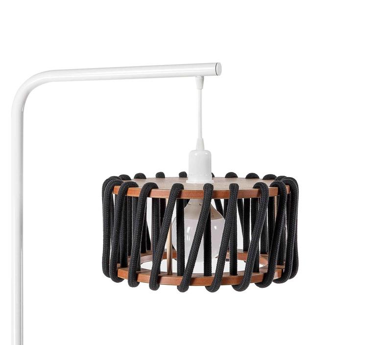 Macaron s noir et blanc silvia cenal lampadaire floor light  emko wmcf30black  design signed nedgis 71957 product