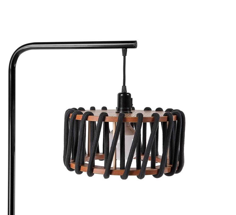 Macaron s noir et noir silvia cenal lampadaire floor light  emko bmcf30black  design signed nedgis 71954 product
