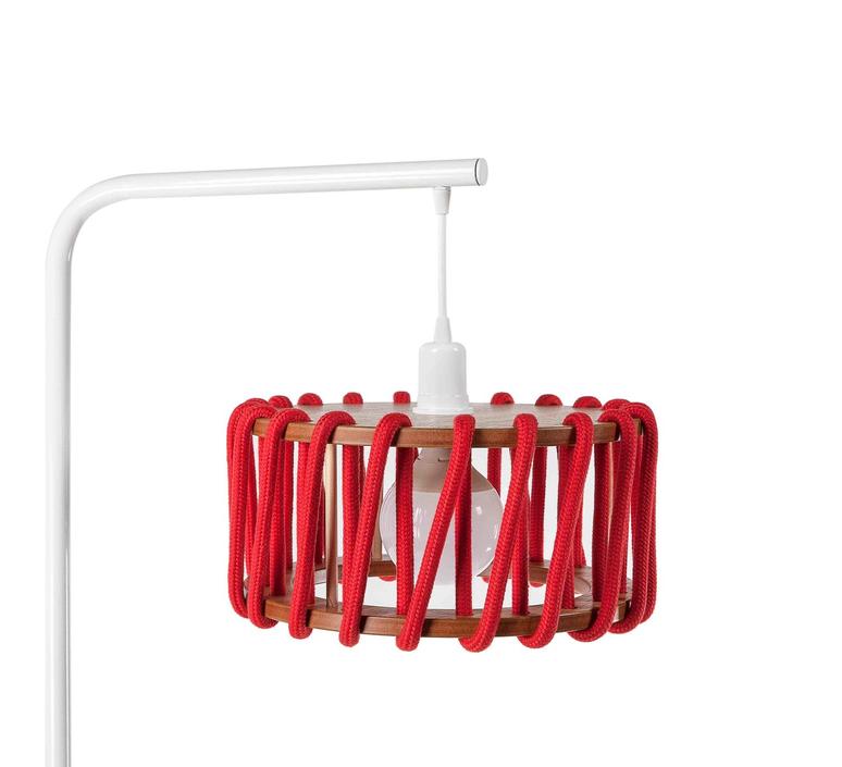Macaron s rouge et blanc silvia cenal lampadaire floor light  emko wmcf30red  design signed nedgis 71960 product