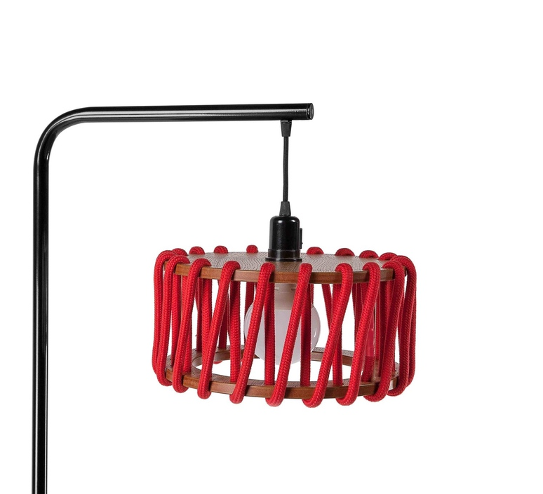 Macaron s rouge et noir silvia cenal lampadaire floor light  emko bmcf30red  design signed nedgis 72309 product