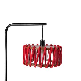 Lampadaire macaron s rouge et noir rouge l30cm h163cm emko normal
