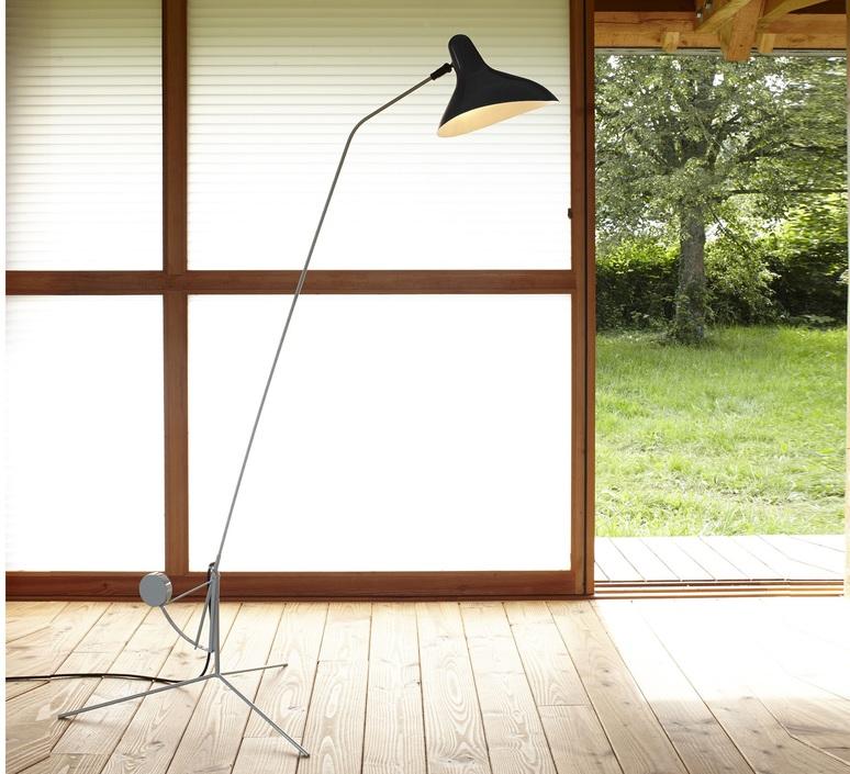 Mantis bs1 bernard schottlander  lampadaire floor light  dcw editions bs1 gr bl  design signed nedgis 65408 product