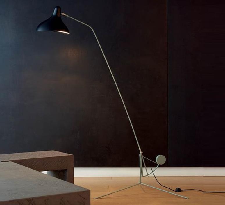Mantis bs1 bernard schottlander  lampadaire floor light  dcw editions bs1 gr bl  design signed nedgis 65409 product