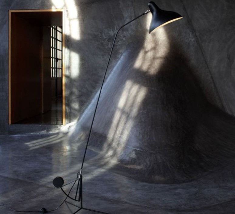 Mantis bs1 bernard schottlander  lampadaire floor light  dcw editions bs1 bl  design signed nedgis 83943 product
