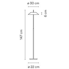 Mayfair diego fortunato lampadaire floor light  vibia 5515 93   design signed nedgis 83999 thumb